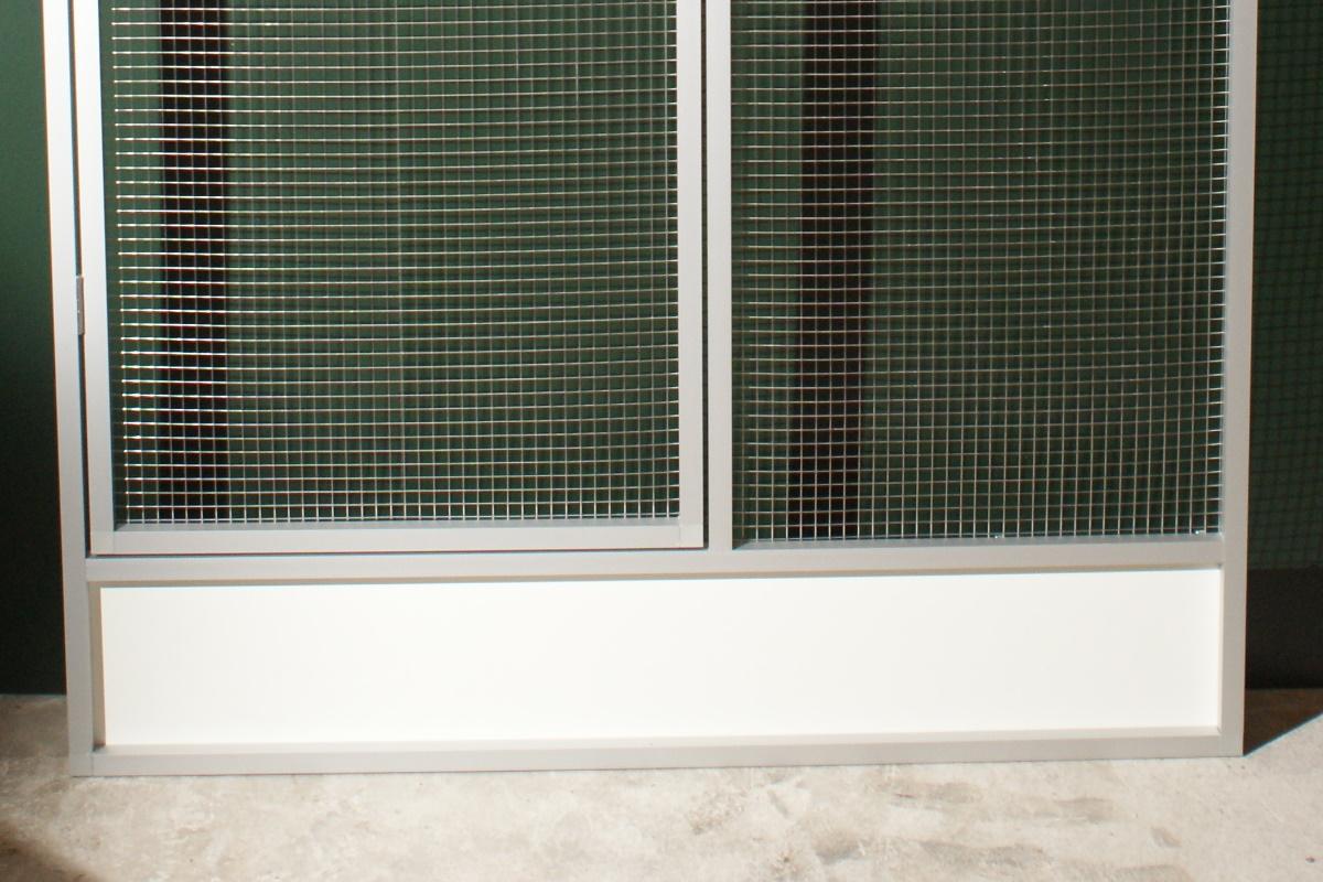 voliere e1 aus edelstahl draht shop von volierenbau ferwagner. Black Bedroom Furniture Sets. Home Design Ideas