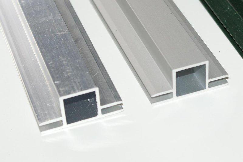 aluminium vierkantrohr mit steg metallteile verbinden. Black Bedroom Furniture Sets. Home Design Ideas